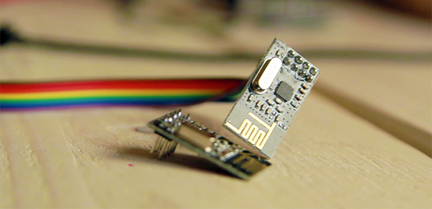 Two nrf24l01+ transceivers, included with the Geek Edition