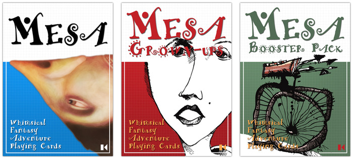 The Mesa SuperBox includes all three decks of Mesa playing cards, and more.