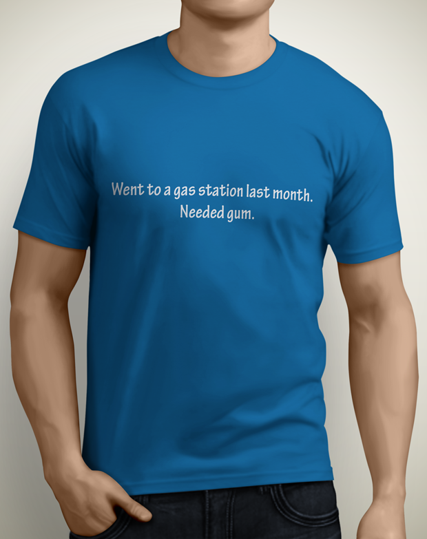 T-Shirt Option #3 (available for men & women)