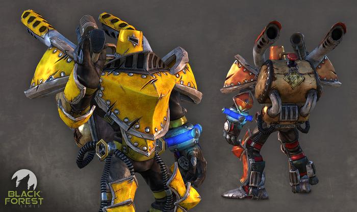Dieselknight 3D model - details may change