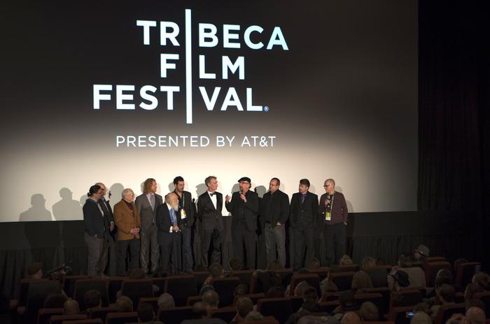 Randi & friends in the film at the premiere Q&A