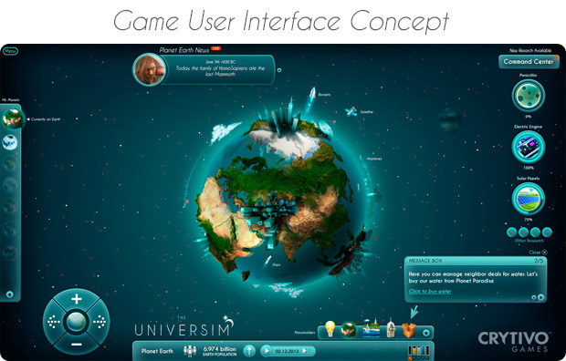 Leave the farms and cities behind, jump straight into managing your own planets in The Universim, a brand new god-game in development by Crytivo Games and Alexander Koshelkov.