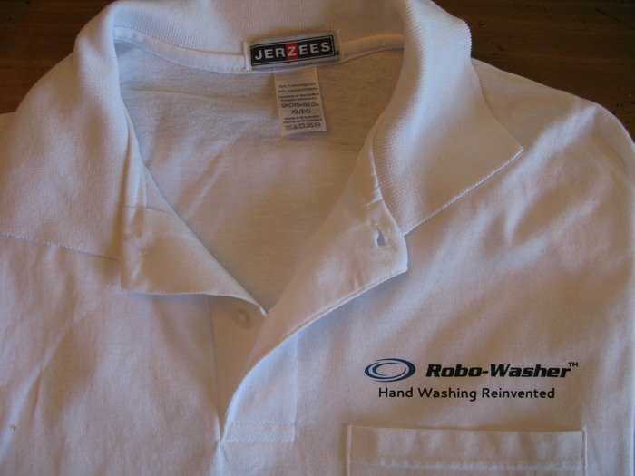 Official Robo-Washer Pocketed Polo