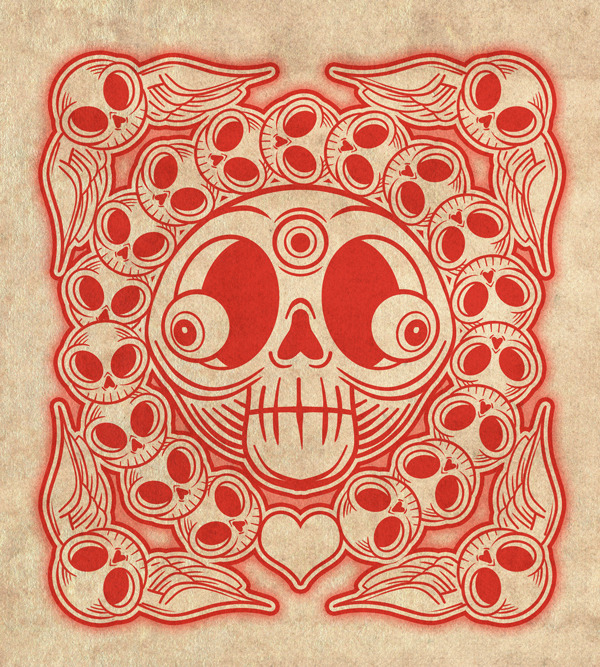 Square Skull I
