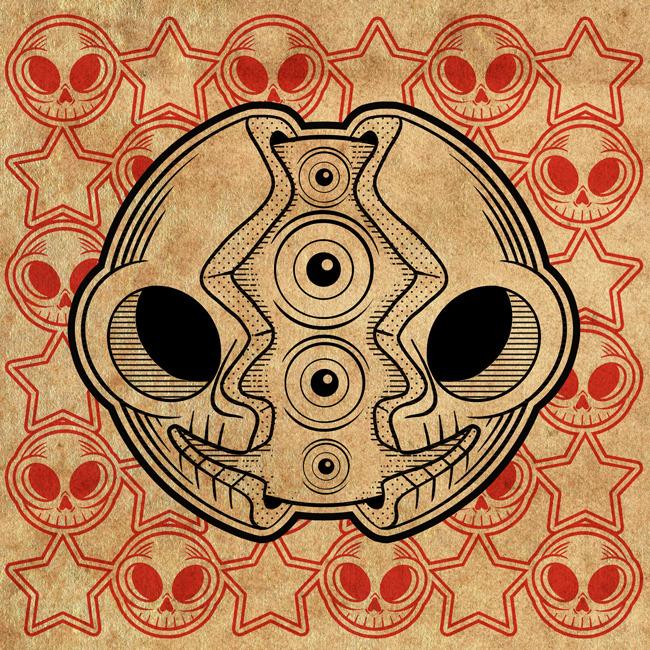 Square Skull II