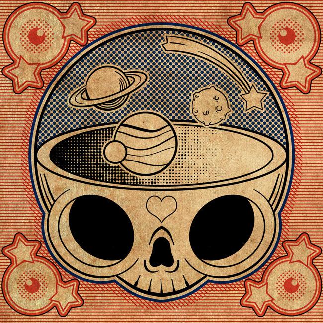 Square Skull III