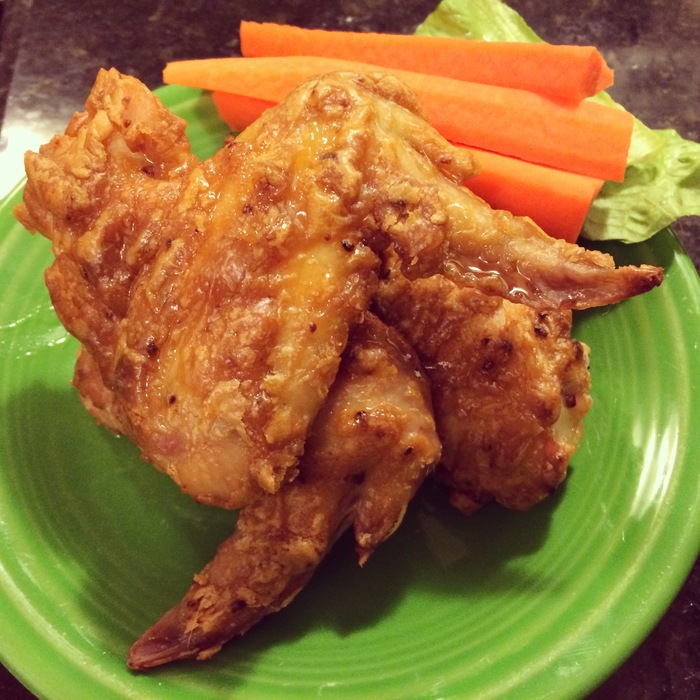 Honey Chipotle Peanut Butter Wings!