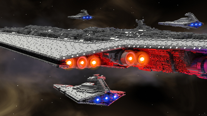 Super Star Destroyer Executor, on Kickstarter