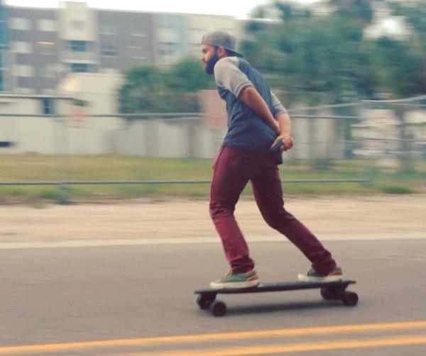 Marbel 가벼운 전동 스케이트 보드 Hard Copy World