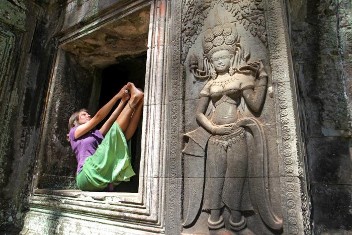 Ubhaya Padangusthasana (Double Big Toe pose)
