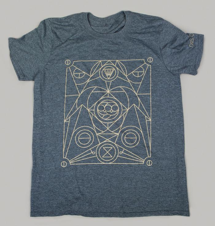 $35 Glow in the Dark T-Shirt. Designed by Artist Michael Boswell.  Gildan Soft Cotton T-Shirt.