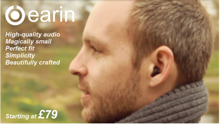 earin the worlds smallest wireless earbuds by earin kickstarter. Black Bedroom Furniture Sets. Home Design Ideas