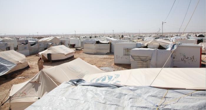 The Zaatari Refugee Camp