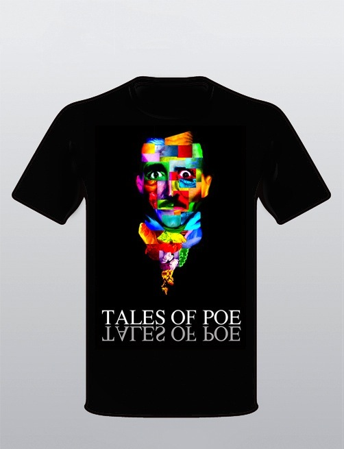 Collector's Tales of Poe t-shirt ( S, M, L or XL). Let us know your size.
