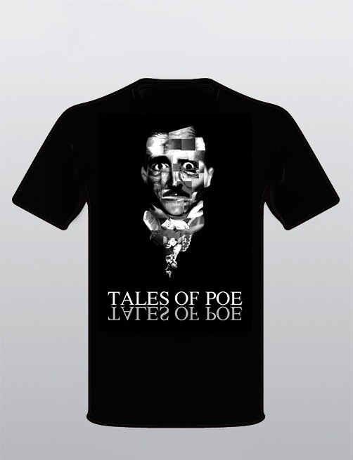 Regular Tales of Poe t-shirt ( S, M, L or XL). Let us know your size.
