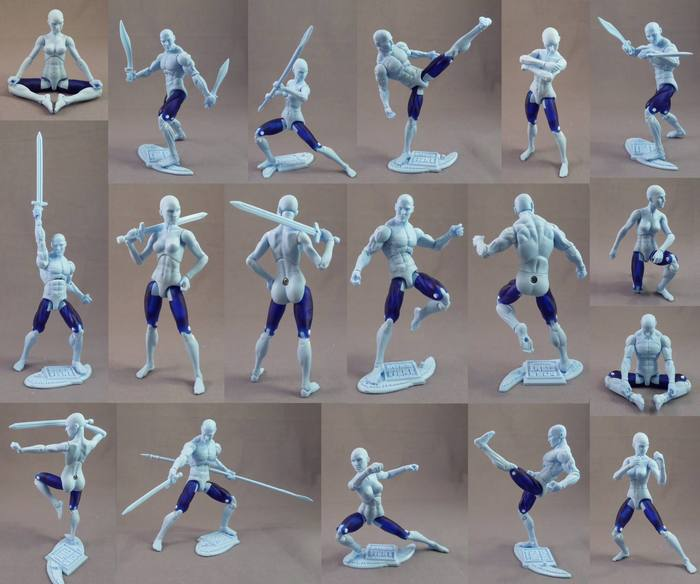Vitruvian HACKS Articulation