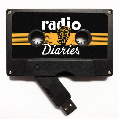 "A special usb drive of ""Radio Diaries Greatest Hits."""