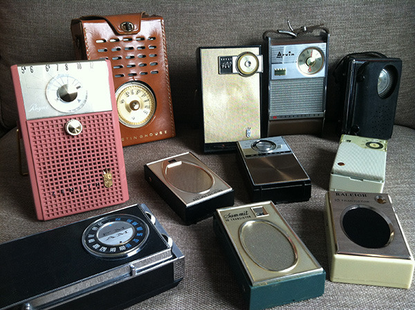 Listen to the next season of Radio Diaries on one of these working vintage radios. (You can choose your own from our selection while supplies last!)