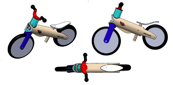 Final prototype drawings different angles