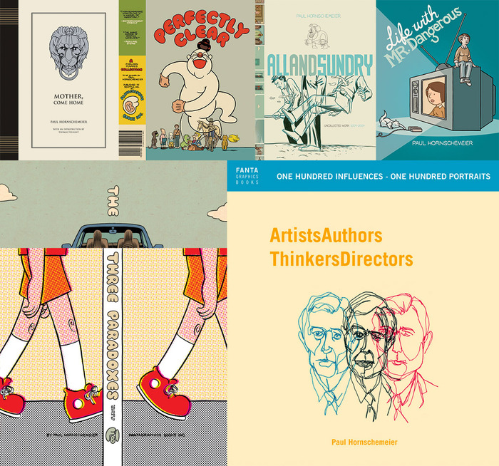 My books (published by Fantagraphics and Random House)