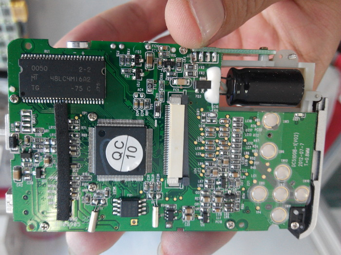 we've already paid for and created a PCB for the digital diana