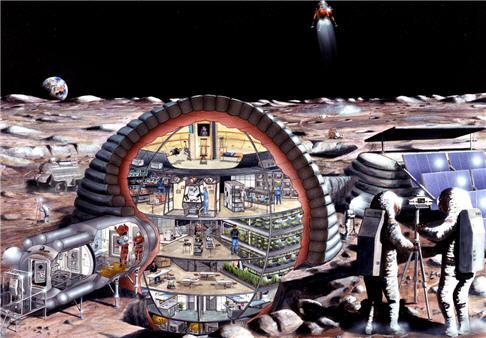 Proposed Lunar Base