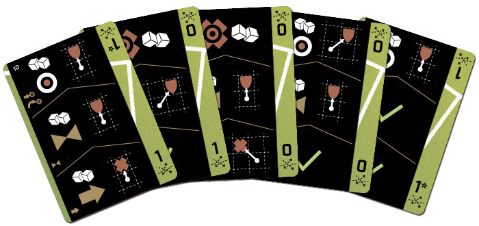 Action cards walk you through the entire turn, providing all the information in one place. Once you become familiar with the handful of icons the system is second nature.