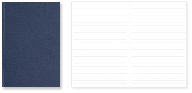 Magnote Ruled type (8mm ruled, 64 pages, 100g/m2)