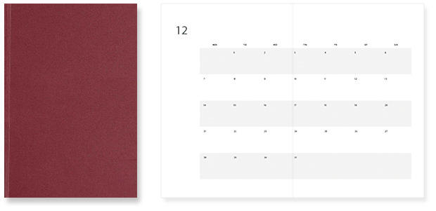 MagPlanner / Monthly (For 2 years / 64 pages, 100g/m2)