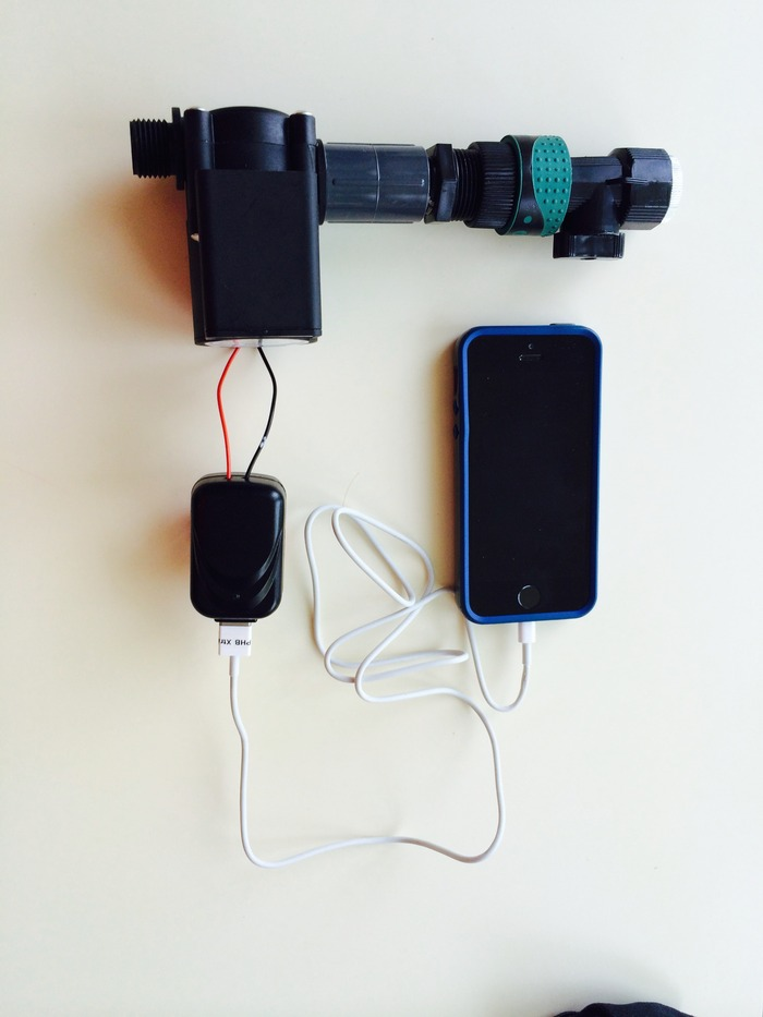 Generator, Charger, Cable - Everything need to charge a USB device