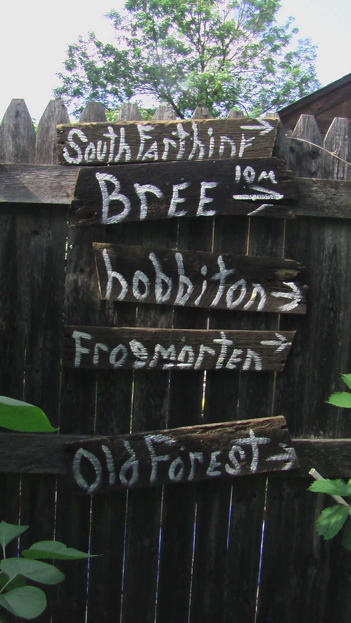 Hobbit Road Signs!