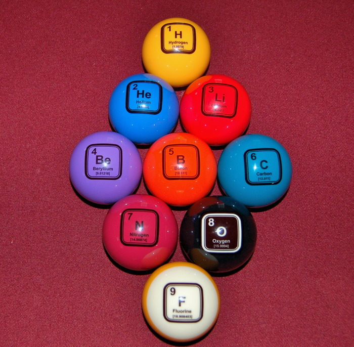 Nine Ball is not a problem with these.