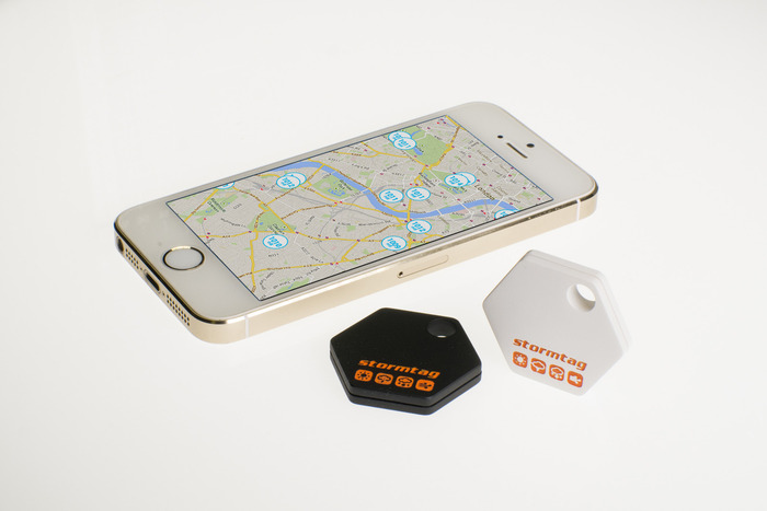 WeatherSignal App with StormTag Bluetooth Weather Station