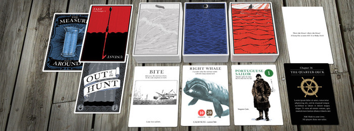 Moby Dick, Or the Card Game