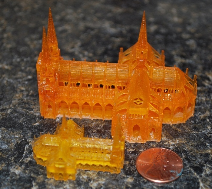 Gothic Cathedral Single Platform by Skimbal