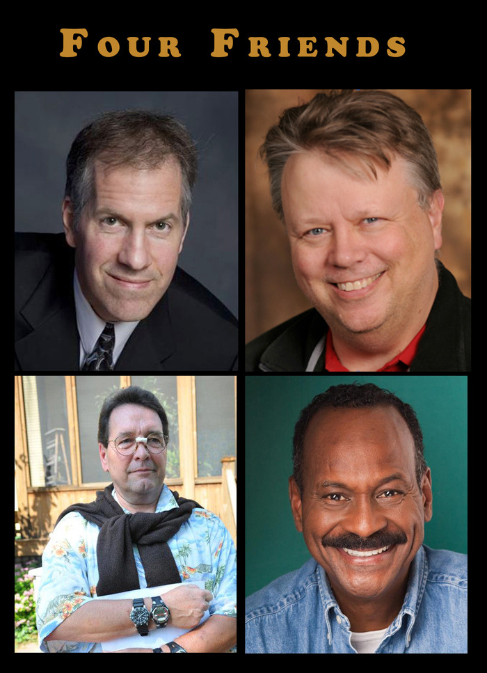 Four Lifelong Friends - GERALD, WILBUR, JIMMY, REGGIE