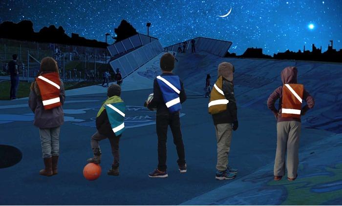 Space Explorers at Night