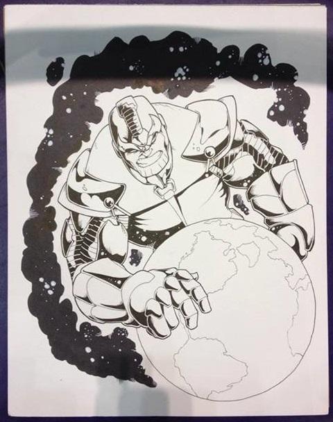 A Sample Sketch by Rando Dixon!