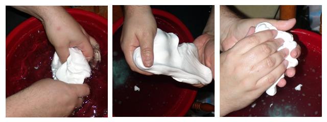 Sneak peek at the mold making process!