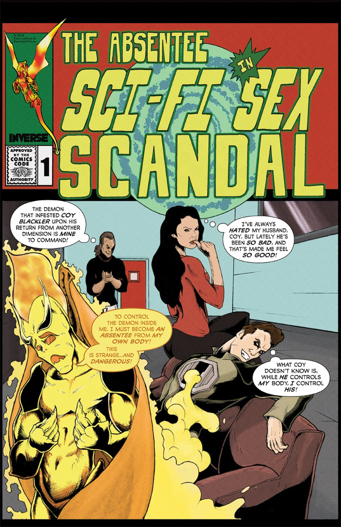 """The """"Golden Age Parody"""" Kickstarter-Exclusive Cover to The Absentee 1!"""
