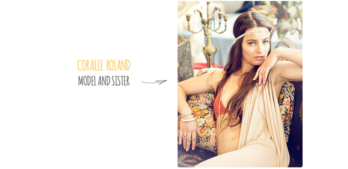 More than being a wonderful model, Coralie is also my sister. It was tons of fun to work together.