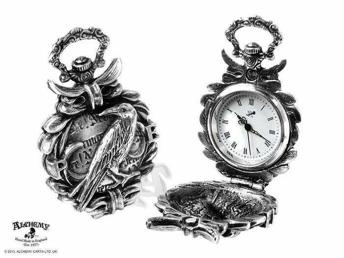 Raven Pocket Watch from Alchemy Gothic!