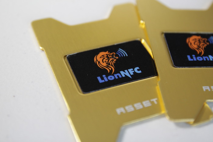 Our NFC Chips on the Gold Asset