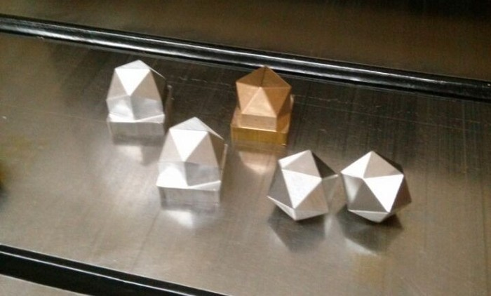 Step #2 - Shape the Dice One by One with Precision CNC Machines
