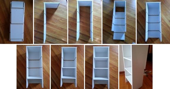 Our Basic Shelf Prototype.