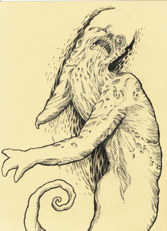 Miami Monster - concept art
