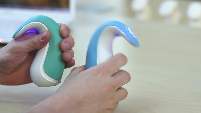 Working prototype in hand
