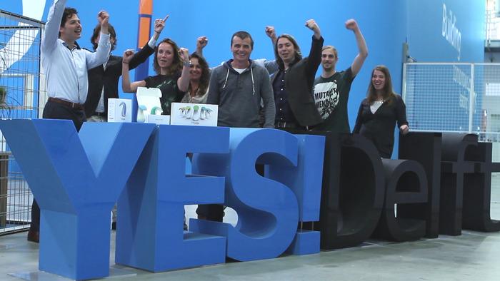 Frebble team + YES!Delft