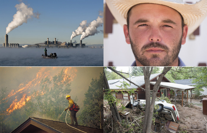 """Stills from """"Americans on the Front Lines of Climate Change"""""""