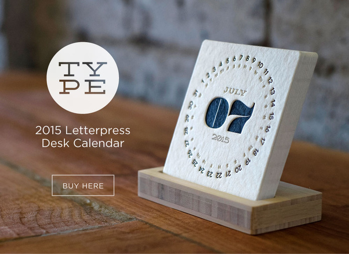 2015 Type Calendar Is Here Pick Up Your Refills